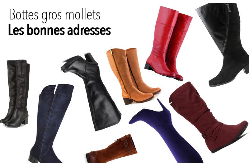 Super 12 marques de bottes mollets larges pour l'automne 2016 - Le blog  TS44