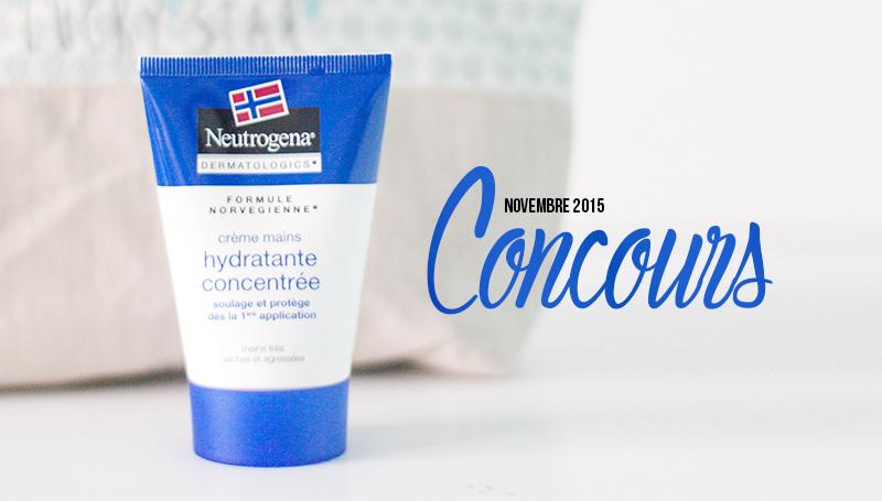 Remportez une crème pour les mains Neutrogena Dermatologics - Le blog de Letilor