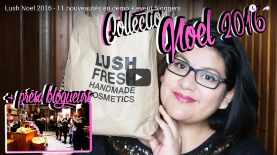Lush collection Noel 2016