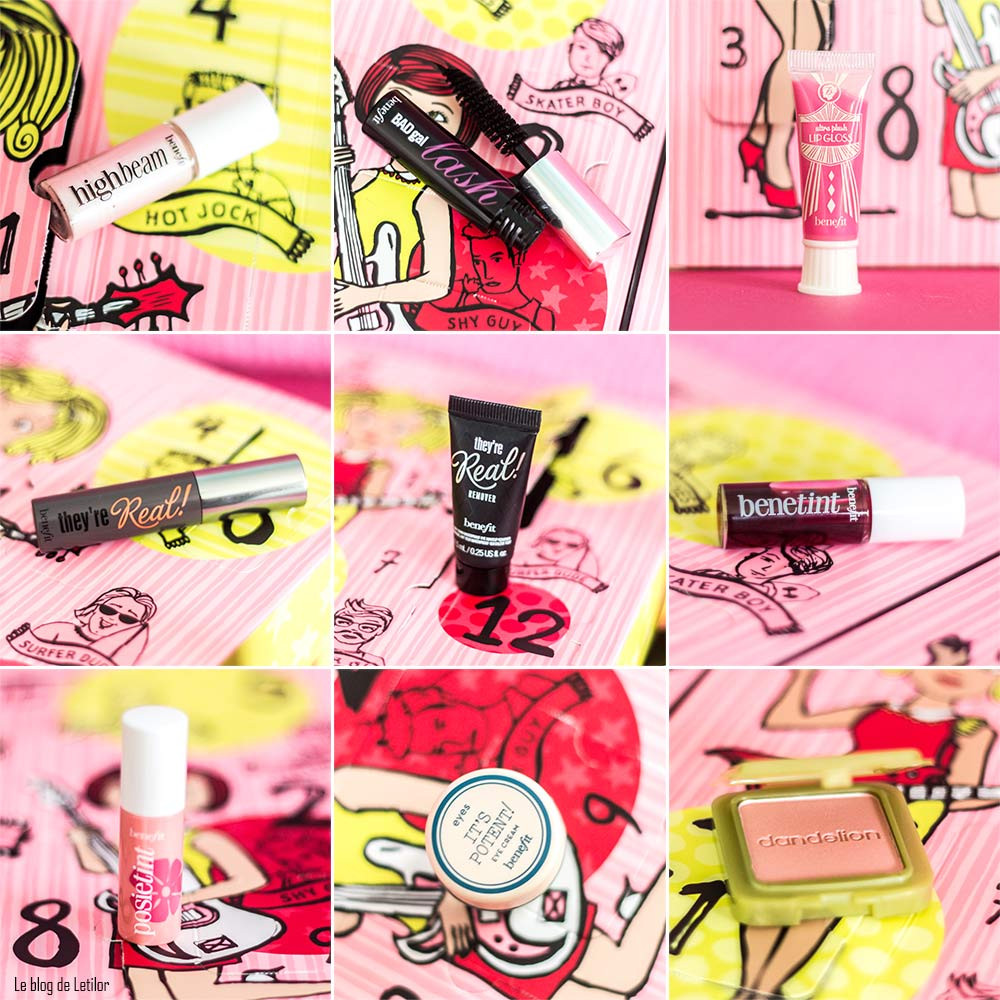 Calendrier de l'Avent Girl'O Clock Rock de Benefit