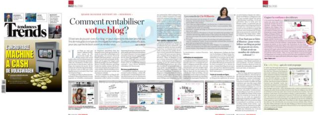 Le blog de Letilor consultée pour le Trends Tendances Comment rentabiliser votre blog - 17 mars 2011