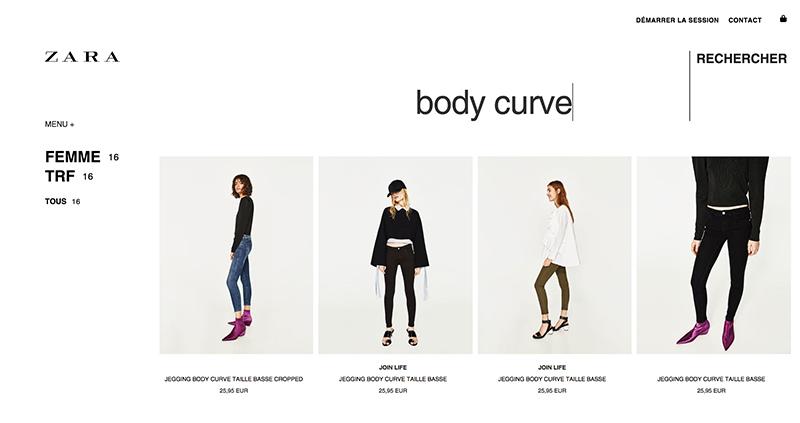 Body curve