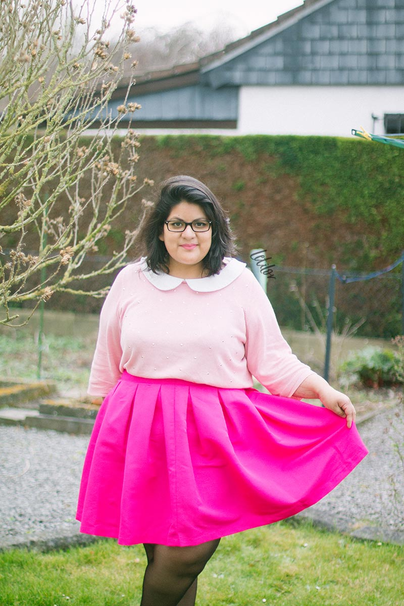 Letilor French Curves Candy tenue rose