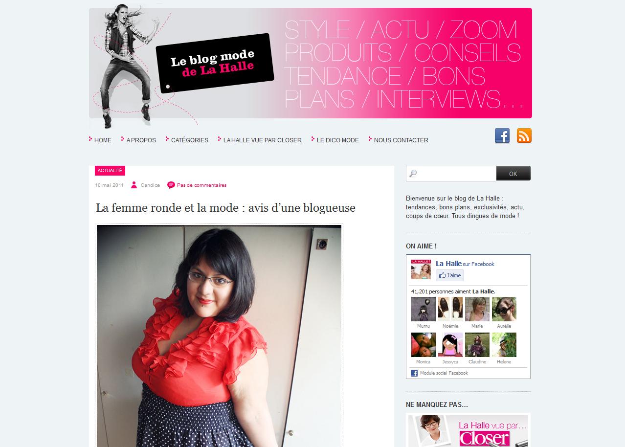 Letilor sur Le blog mode de La Halle