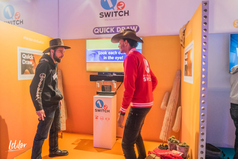 Nintendo Switch 1 2 switch cowboy