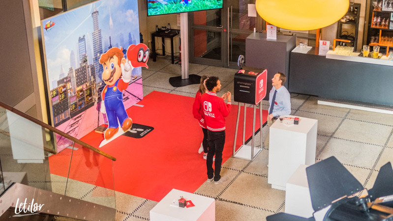 Nintendo Switch event presse premierbe