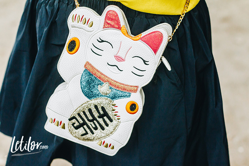 Sac lucky cat
