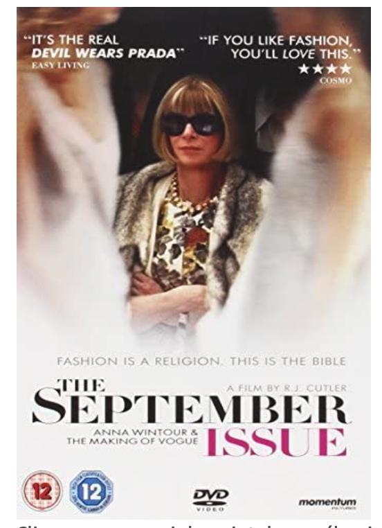 [Ciné] The September Issue , visionnez le film complet en streaming