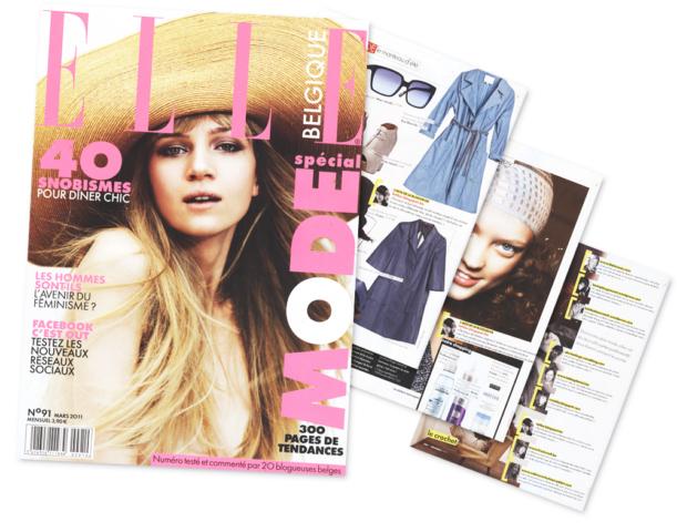 Le blog de Letilor dans le Elle Belgique Mars 2011