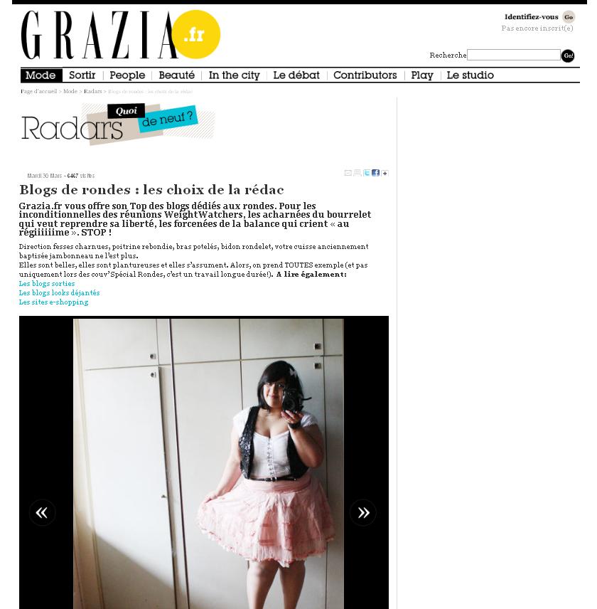 Letilor Grazia Magazine
