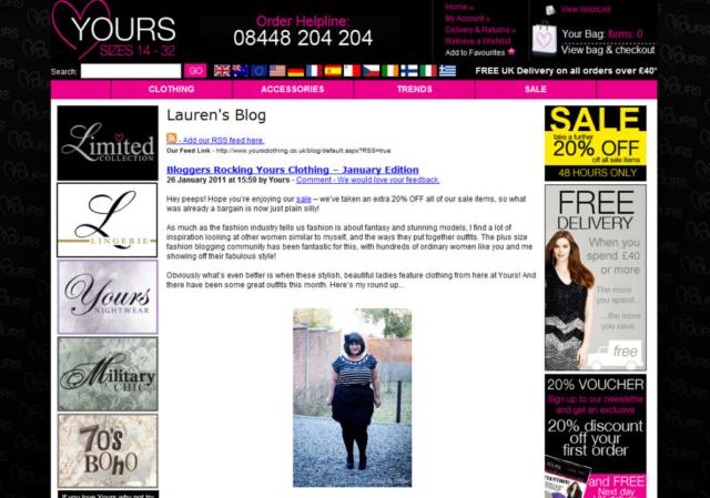 Letilor Yours clothing blog