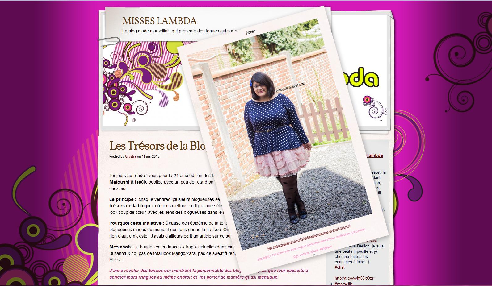 Misses Lambda