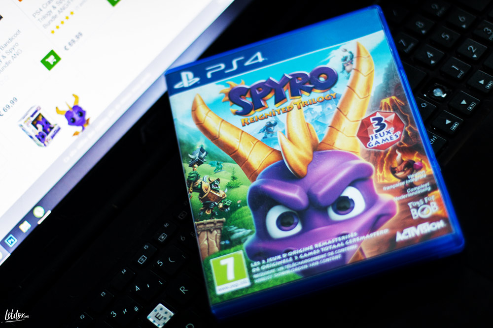 Jeu video Spyro sur Collishop