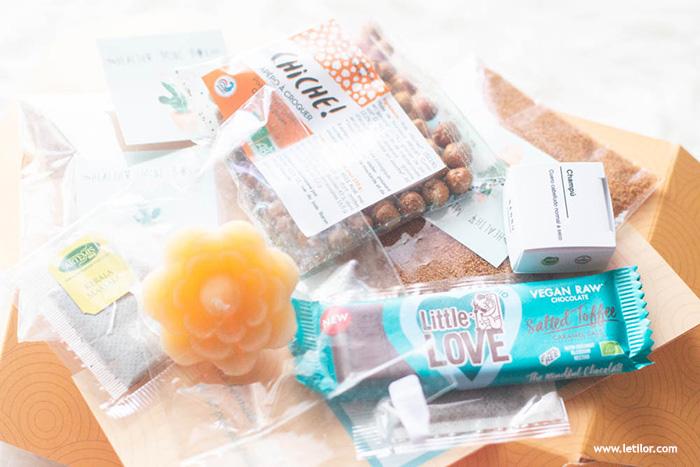 La box lifestyle belge , healthy mini box