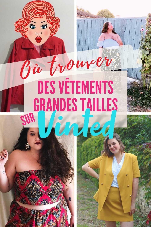 vêtements grandes tailles pour femmes rondes sur Vinted