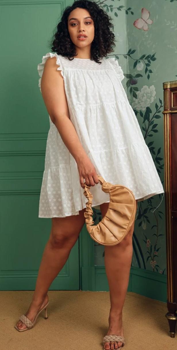 Shein Curve, la petite robe blanche